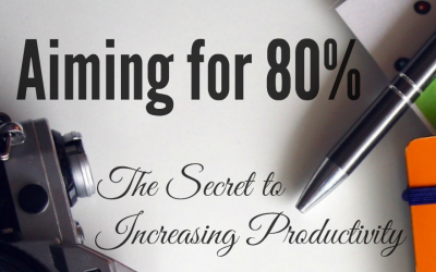 Aiming for 80% | Secret to Increase Productivity
