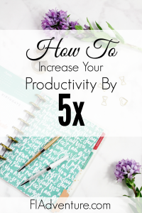 Increase productivity, aim for 80%