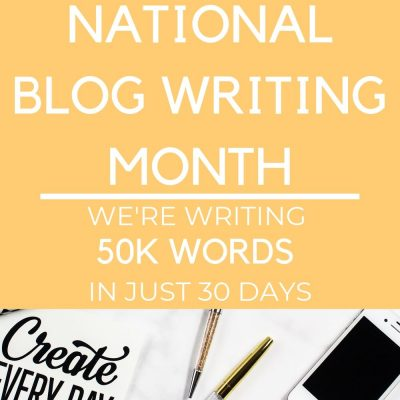 Blog Writing Month | Mega-Batching Content Creation