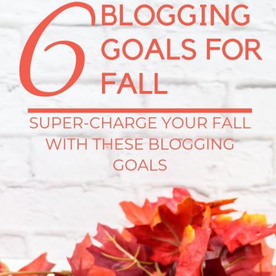 Fall Blogging Bucket List | 4th Quarter Goals
