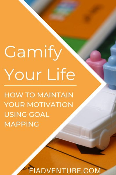 Gamify Your Life - How to maintain your motivation using goal mapping image