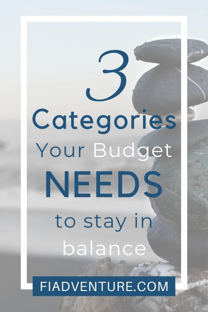 3 Categories your budget needs to stay in balance - The Balanced Money Formula