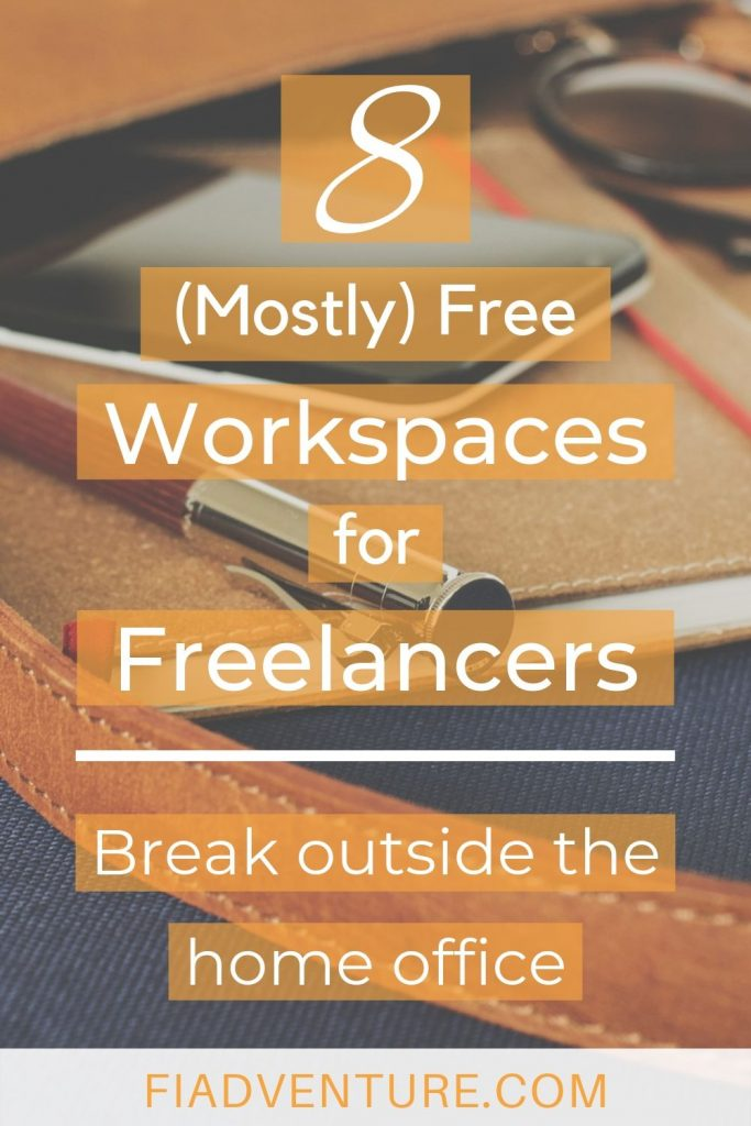 8 Mostly Free Workspaces for Freelancers - Break outside the home office
