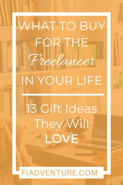 Freelancer Gift Guide - 13 gift ideas they will love