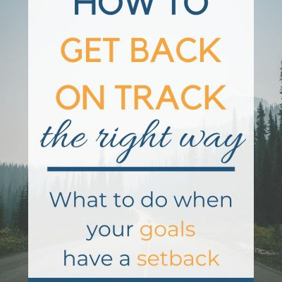Week 2 Update & Insights – Getting Back On Track