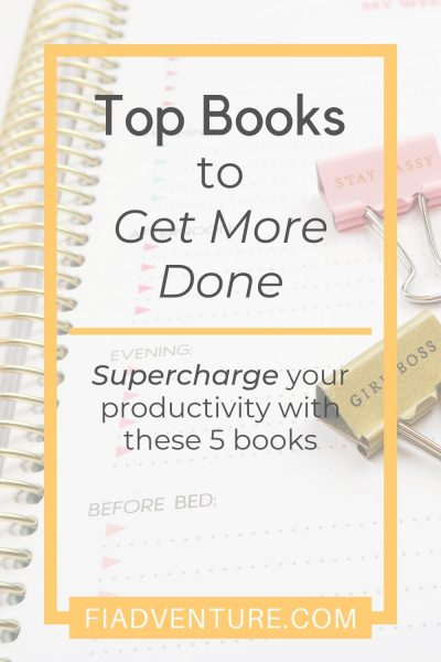 Top books to get more done - supercharge your productivity with these 5 books