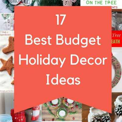 17 Holiday Decor on a Budget Ideas