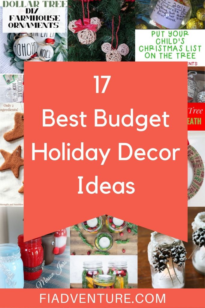 17 Best Budget Holiday Decor Ideas