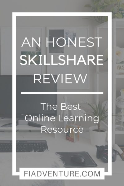 An honest skillshare review - the best online resource